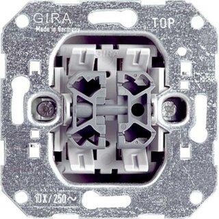 Gira 010800 Einsatz Wippschalter Wechselschalter 2-fach